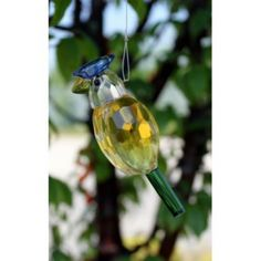 Crystal Bird - Design 3. Our Hanging Crystal Birds are 9 cm high and have approximately 24 cm long metal string.