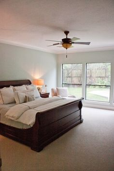 Master bedroom {Before and After}