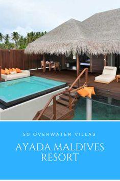 Maldives Water Villa, Maldives Resort, 5 Star Resorts, Overwater Bungalows, Resort Villa, Island Nations, Romantic Getaway, Patio, Outdoor Decor