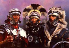 Armamento de las Legiones Romanas, lanzas y armas arrojadizas (Parte I)  http://revistadehistoria.es/armamento-de-las-legiones-romanas-lanzas-y-armas-arrojadizas-parte-i/