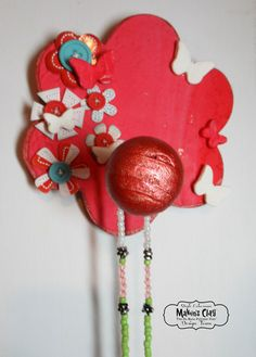 Floral Hanger with Makin's Clay