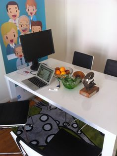 Meeting Table at the Intunex Office Meeting Table, Desk, Furniture, Home Decor, Desktop, Decoration Home, Room Decor, Writing Desk, Home Furniture