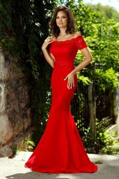 Sexy Long Dress, Sexy Dresses, Fashion Dresses, Prom Dresses, Formal Dresses, Red Bridesmaid Dresses, Red Fashion, High Fashion, Dream Wedding Dresses