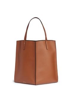 Pre-owned - Leather tote Maiyet MuaxwVD2U6
