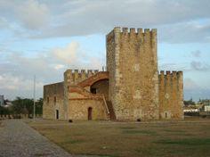 Santo Domingo, Dominican Republic: Plaza de Armas en Fortaleza Ozama