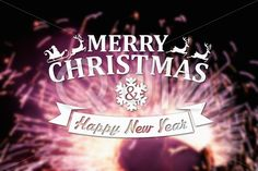 Qdiz Stock Photos | Merry Christmas and New Year greeting card,  #background #blur #blurred #card #celebration #Christmas #eve #firework #greeting #happy #holiday #Merry #new #postcard #retro #season #traditional #vintage #xmas #year