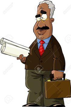13274620-professor-with-rolls-of-paper-vector-illustration-professor-teacher-cartoon.jpg (866×1300)