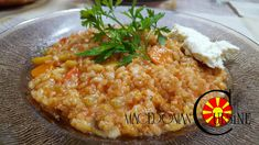 MACEDONIAN RISOTTO One of my favorite vegetarian dishes and one of the fastest to prepare. I basically like to prepare meals that contain rice and this one is one of my favorite and my kids love it!