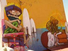 Arte mural, Cerro Bella vista, Valparaíso, Chile