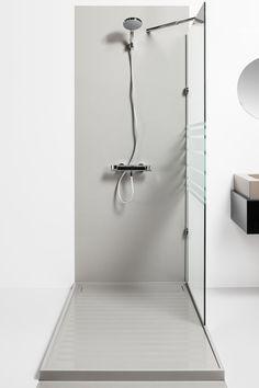 Create the Bathroom of Your Dreams with the Silestone Bathroom Collection Barn Bathroom, Laundry In Bathroom, Modern Bathroom, Bathroom Ideas, Shower Basin, Bath Surround, Bathroom Collections, Wall Cladding, Shower Enclosure