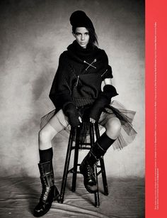 'Jumpin' by Partrick Demarchelier for Love No.12 F.W 14.15 4