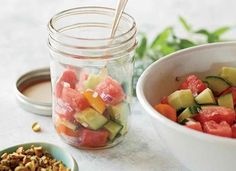 Recept: Hartige watermeloen salade