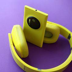 Nokia Lumia 1020 and Monster Purity headphones