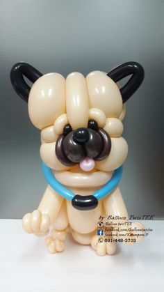 Balloon Dog, Balloon Animals, Doggies, Dogs And Puppies, Balloons, Superhero, Design, Balloon Decorations, Globes