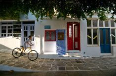The Irresistible Simplicity of Kythnos - Greece Is Medieval Town, Medieval Castle, Small Lake, Local Tour, Stone Path, Wooden Boats, Greek Islands, First Night, Greece