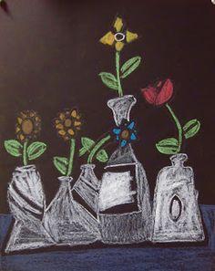 shine brite zamorano: 5th grade art lesson