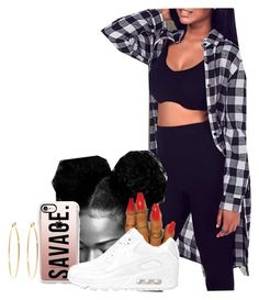 Untitled #1635 by melaninprincess-16 on Polyvore featuring polyvore fashion style NIKE Brooks Brothers Casetify clothing