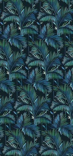 Tropical wallpaper BRASILIA Contemporary Wallpaper 2016 Collection By Wall&decò design Lorenzo De Grandis Wallpaper 2016, Wall Wallpaper, Pattern Wallpaper, Wallpaper Jungle, Post Contemporary, Contemporary Wallpaper, Fleur Design, Design Design, Pattern Design