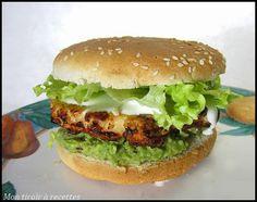 hamburger guacamole