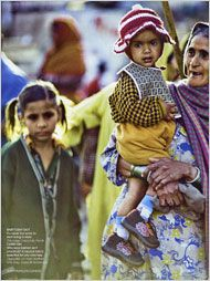 rich-poor divide in adverts: Vogue's Fashion Photos Spark Debate in India