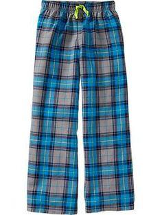Boys Flannel PJ Pants