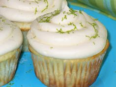 Leenee's Sweetest Delights: Key Lime Cupcakes