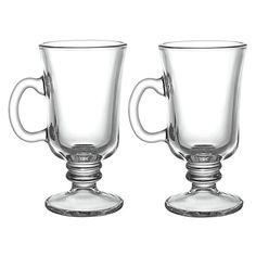 Buy John Lewis Cafe Irish Coffee Cups, Set of 2 Online at johnlewis.com