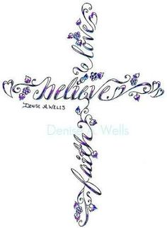 simple christian tattoos for women - Google Search