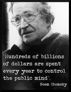 Noam Chomsky Quote picture 35507