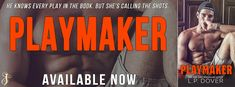 Playmaker by L.P. Dover  Title: Playmaker  Series: Breakaway #3  Author: L.P. Dover  Genre: Contemporary Romance  Release Date:February 27 2018  He knows every play in the book. But shes calling the shots.  Im Maddox Ledger all-star winger and the reason the Charlotte Strikers killed it in the playoffs. Yeah the tabloids like to call me arrogant. A real hothead. All I see is a guy who plays to win. Wreaking havoc on the ice breaking a few heartsthats all just part of the game. And Im sure as…