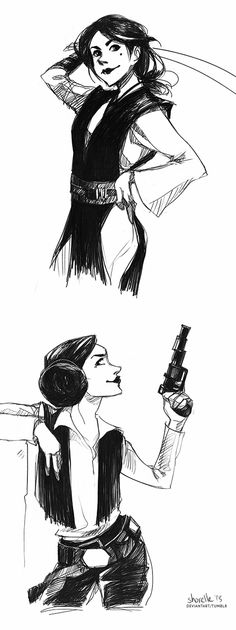 star wars - costume swap by shorelle on deviantART