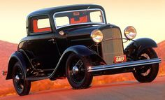 Top 100 American Collector Cars of All Time - / 1932 Ford V-8 /  Hemmings Motor News