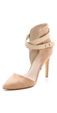 Joe's Jeans Laney Suede d'Orsay Pumps | SHOPBOP SAVE 25% use Code:INTHEFAMILY14
