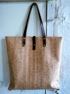 awesome cork tote
