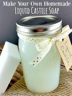 Homemade Liquid Castile Soap