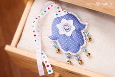 Items similar to Hamsa Baby Crib Mobile - Blue - Hand of Fatima - Handmade Cotton Hamsa - Baby Shower Decor on Etsy Hamsa, Baby Crib Mobile, Hand Of Fatima, Wall Decor, Wall Art, Baby Shower Decorations, Cribs, Kids Rugs, Creative