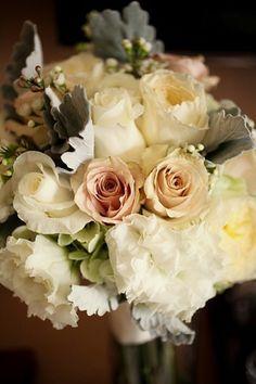 romantic bouquet Park City Wedding