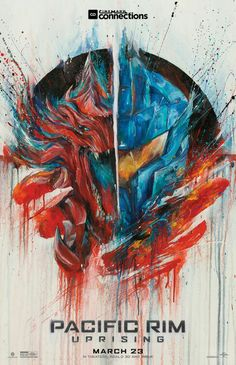 Pacific Rim Uprising movie poster #movietwit #movieposters #PacificRimUprising #movietalk #scifi #scififantasy