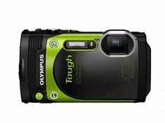 Olympus TG-870 Tough Waterproof Digital Camera (Green), 2016 Amazon Most Gifted Point & Shoot Digital Cameras  #Electronics