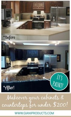Bathroom Makeover Granite 37 brilliant diy kitchen makeover ideas | faux granite, kitchen