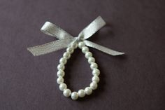 Flower Girl Bracelet Custom-Also ideal for photo prop, communion or any special occasion. $8.99, via Etsy.
