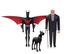 Nuevas figuras de acción de Batman Animated Revealed - Cosmic Book News
