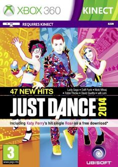 Let them dance the day away with Just Dance 2014 for the Wii U for It's also available on Xbox One, Wii, Playstation, & and Kinect for Xbox! Olly Murs, Robin Thicke, Wii Games, Xbox 360 Games, David Guetta, Toys R Us, Christina Aguilera, Wii U, Nintendo Wii
