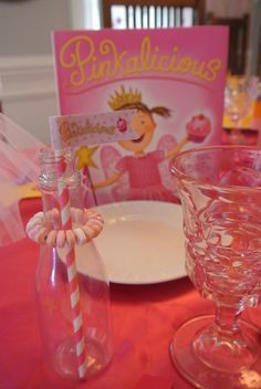"Photo 1 of 28: Pink/Pinkalicious, Purplicious, / Birthday ""Pinkalicious 6th Birthday"" | Catch My Party"