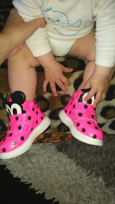 0b4f58a7efc Pink Baby Cartoon Boots Baby shoes