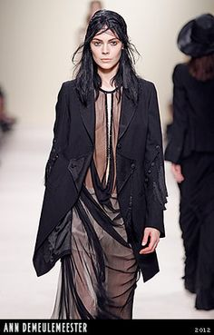 Amazing jacket by Ann Demeulemeester