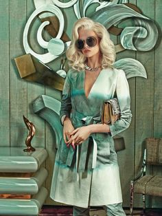 #campaigns #fashion superior interiors: alyona #subbotina by sandrine #dulermo and michael #labica for how to spend it 16th april 2015