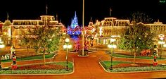 Magic Kingdom at Christmas - can't wait to see this in person!