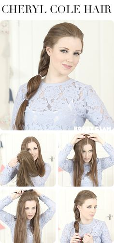 Cheryl Cole hair- hair tutorial