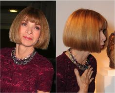 The Best Hairstyles for Women Over 50: Anna Wintour of Vogue's Classic and Famous Bob